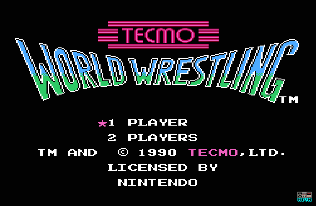 Tecmo World Wrestling
