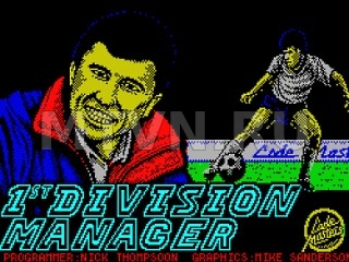 1 st Division Manager
